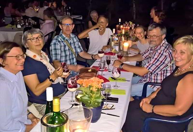 Hoffest Auf Dem Weingut Cbr. Anheuser