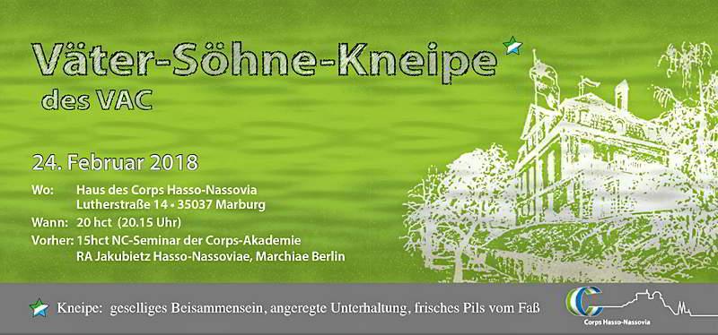 Väter- und Söhne Kneipe in Marburg