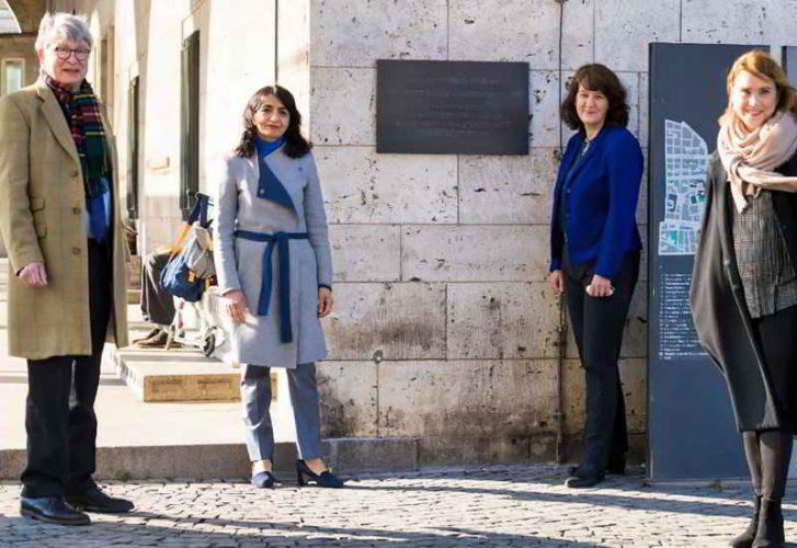Clostermeyer Weiht Mit Landtagspräsidentin Gedenktafel In Stuttgart Ein