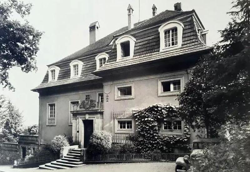 Aussenaufnahme Corpshaus 1928