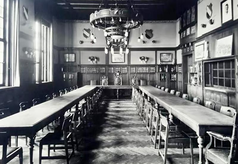 Bild von der großen Kneipe 1928
