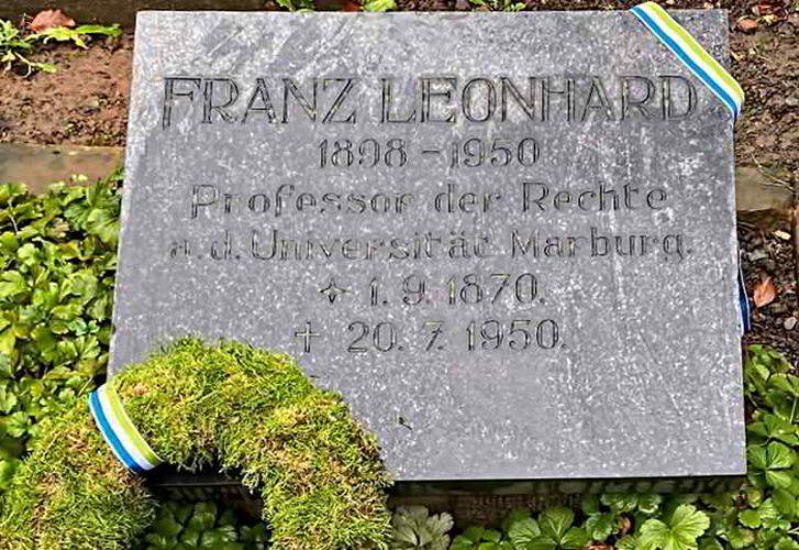 Gedenktafel AH Leonhard