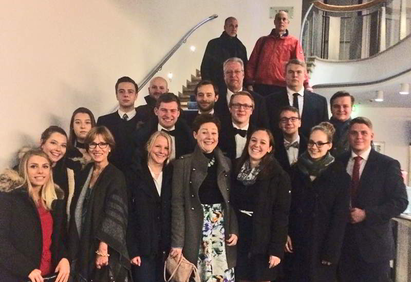 Opernbesuch Lohengrien In Frankfurt
