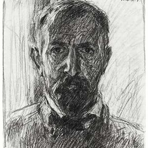 Selbstbildnis - Bleistift, 1917