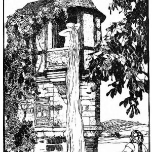 Rapunzelturm – Illustration, 1922