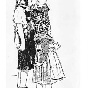 Hinterländer Tracht, 1910