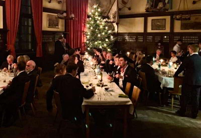 Weihnachtswildessen Beim Corps Hasso-Nassovia In Marburg