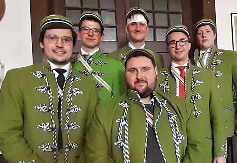 Ein Nassauer Mit Hessen-Nassauer Band