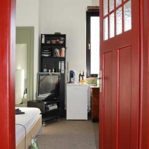 Blick In Die Zimmer Des Studentenwohnheims