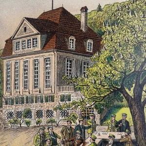 So Sah Das Corpshaus Im Jahr 1909 Aus