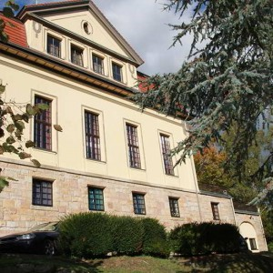 Die Rückseite Des Corpshauses