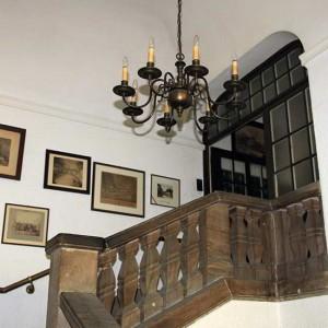 Corpshaus: Treppenaufgang