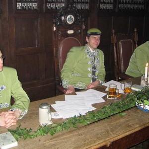 Die Chargierten Des Corps: Verantwortlich Für Den Reibungslosen Ablauf