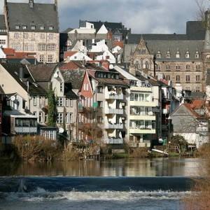 Marburg & Die Lahn Im Sommer
