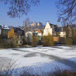 Marburg & Die Lahn Im Winter