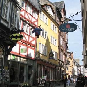 Barfüßerstraße Richtung Rathaus