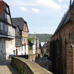 Die Gassen In Der Marburger Oberstadt