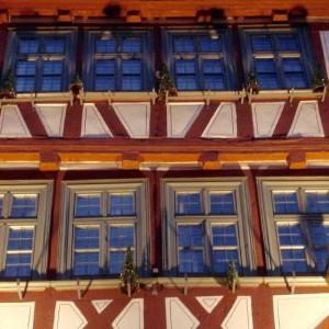 Typisch Oberstadt Marburg: Fachwerkhäuser