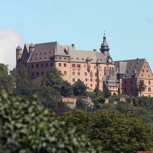 Das Landgrafenschloss In Voller Pracht