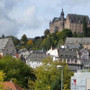 Das Marburger Schlos, Die Oberstadt Und Lutherische Pfarrkirche