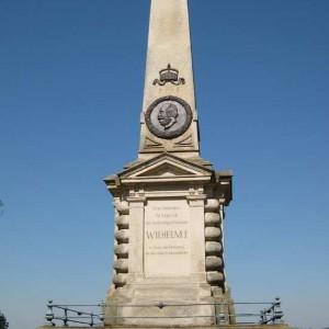 Denkmal Auf Der Rudelsburg