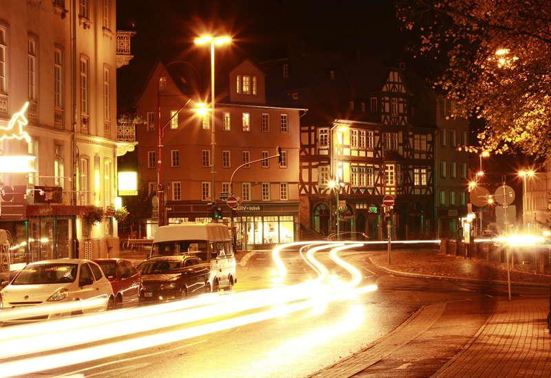Marburg - Innenstadt Bei Nacht